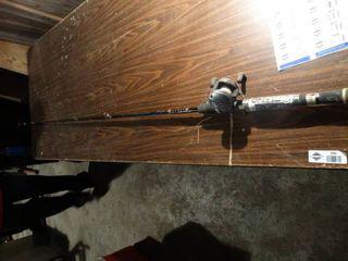 Rhino fishing pole   reel combo