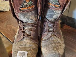 Size 8 Rocky Bearclaw Boots