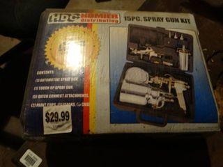 15 PC Paint Gun Kit