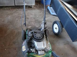 John Deere gas lawn mower