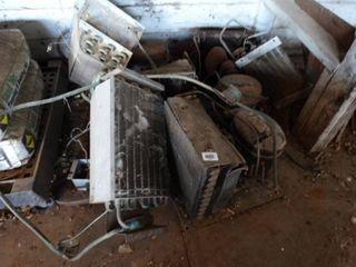 lot of various refrigeration compressors