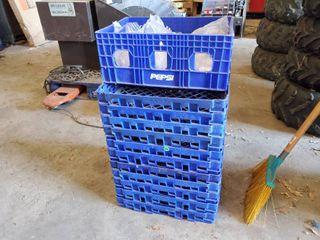lot of Plastic Crates
