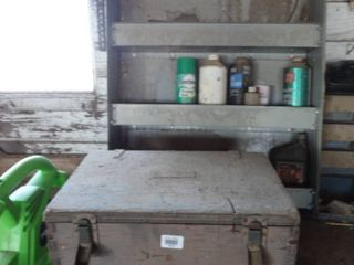 Wooden box   wall shelf