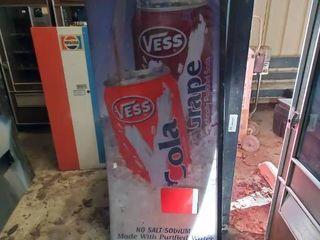 Vess Vending Machine Front Panel