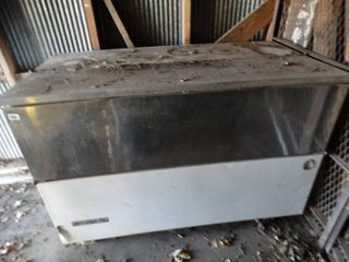 Beverage Air cooler and or freezer w  drop down front