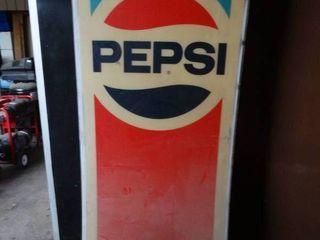 Pepsi Soda Machine Faceplate