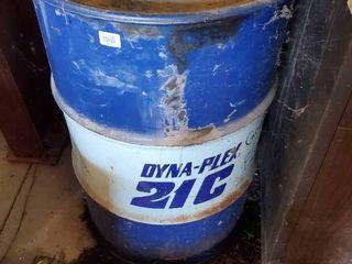 Metal barrel w  feed