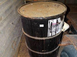 2 metal 55 gallon barrels