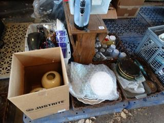 large lot of household decor   misc