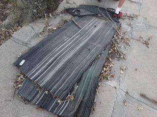 Thick rubber floor mats
