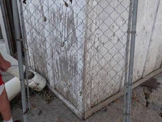 Chainlink walk through gate