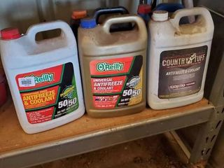 lot of 5 Antifreeze and Coolant