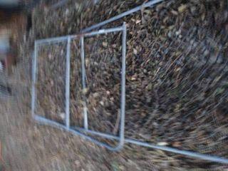 2 chainlink fence gates