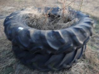 2 lARGE tractor tires