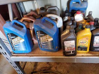 large lot of Automotive Motor Oils