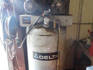HUGE Delta 6 5 hp  80 gallon air compressor