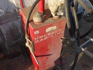 Red Gasoline Transfer Tank