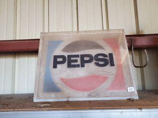 Vintage Pepsi Sign