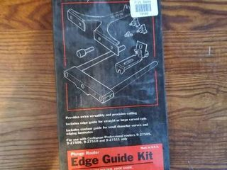 Plunge Router Edge Guide Kit