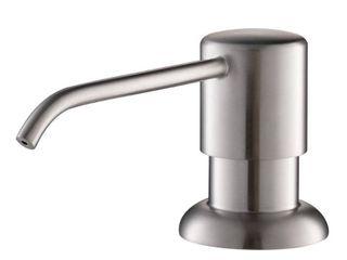 Kraus Boden Kitchen Soap Dispenser in Stainless Steel