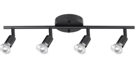 Globe Electric Payton 4 light Matte Black Track lighting  C2