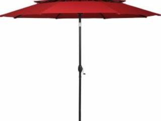 Costway 10ft 3 Tier Umbrella  A2