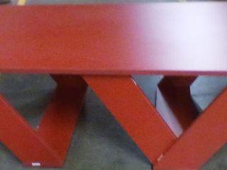 Cole Wood Modern Coffee Table