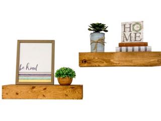 Artisan Haute Floating Shelves  Pair   B2