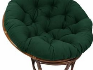 Blazing Needles paoasan Cushion 52in  Green  B3