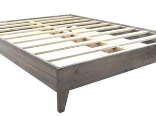 Kotter Home Solid Wood Mid Century Platform Bed Full  B3   l