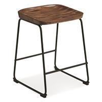 Showdell Contemporary Tall Barstool Set of 2  Black  Retail 144 49
