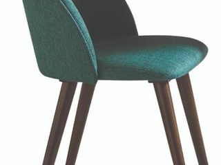Smeg Green Upholstered Dining Chair  Set of 2