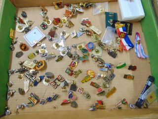 Pins  Tie tacks  etc