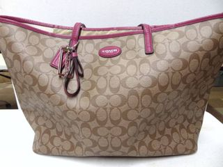 Coach Carry All  overnight bag