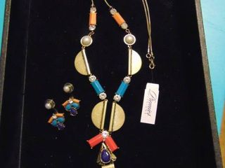 Premier Necklace and Earrings  Pop Art