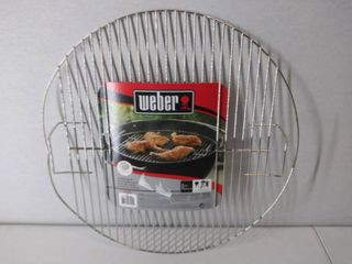 Weber Replacement Cooking Grate for One Touch Silver  Bar B Kettle   Master Touch Charcoal Grill  Bent   Please See Photos