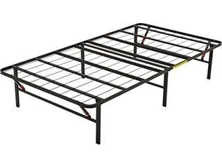 AmazonBasics Foldable  14  Metal Platform Bed Frame with Tool Free Assembly  No Box Spring Needed   Twin