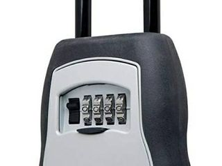 Master lock 5400D Does Not Open  Combonation Unknown Portable lock Box  5 Key Capacity  Black