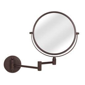 Giagni Bronze Zinc Magnifying Wall Mounted Vanity Mirror
