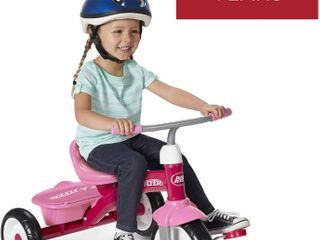 Radio Flyer Pink Rider Trike  outdoor toddler tricycle  ages 3 5  Amazon Exclusive