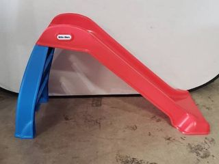 little Tikes Red And Blue Plastic Snap Together Slide  Small