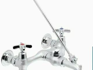 Speakman Commander Rough Chrome plated 2 handle Utility Faucet