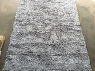Silky Smooth Velvet Area Rug  7  10  x 5  with Non slip Back