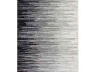 nulOOM lexie Ombre Area Rug  4  x 6    Black  Gray