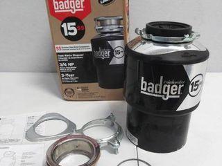 InSinkErator Badger 3 4 HP Garbage Disposal   Missing Parts