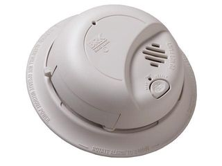 First Alert 9120B6CP 120 Volt Wire In With Battery Backup Smoke Alarm  6 Pack
