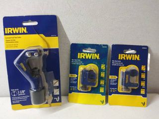 2 Irwin Jr Tube Cutter 5 8a   A Irwin Irht81734 Pipe Cutter  Pre owned