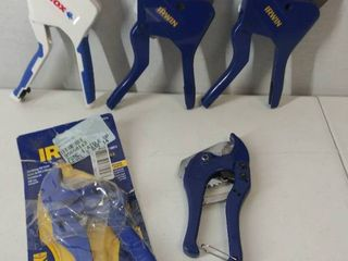 Irwin Smooth Soft Vise Grip 10  Pliers  Some Have Damage   Please See Photos