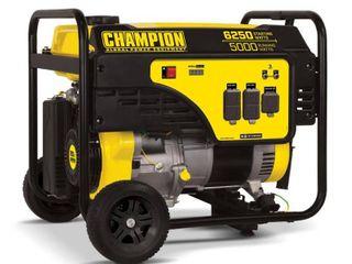 CHAMPION POWER EQUIPMENT 6250 5000 Watt Gasoline Powered Recoil Start Portable Generator