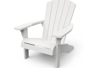 Keter Troy White Adirondack Chair